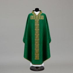 Gothic Chasuble 10385 - Green  - 2
