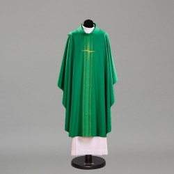 Gothic Chasuble 10387 - Green  - 1