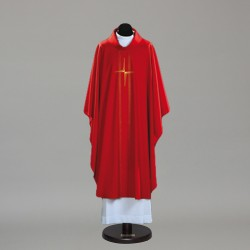 Gothic Chasuble 10389 - Red