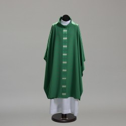 Gothic Chasuble 10390 - Green  - 1
