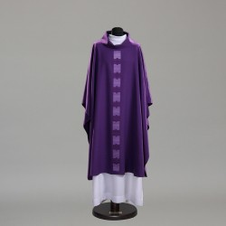 Gothic Chasuble 10393 - Purple