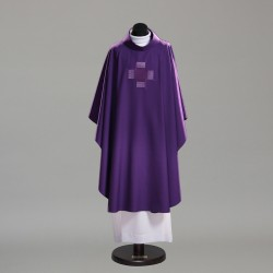 Gothic Chasuble 10395 - Purple