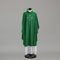 Gothic Chasuble 10396 - Green  - 3