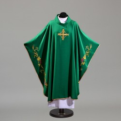 Gothic Chasuble 10398 - Green  - 1