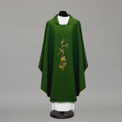 Gothic Chasuble 10402 - Green  - 2