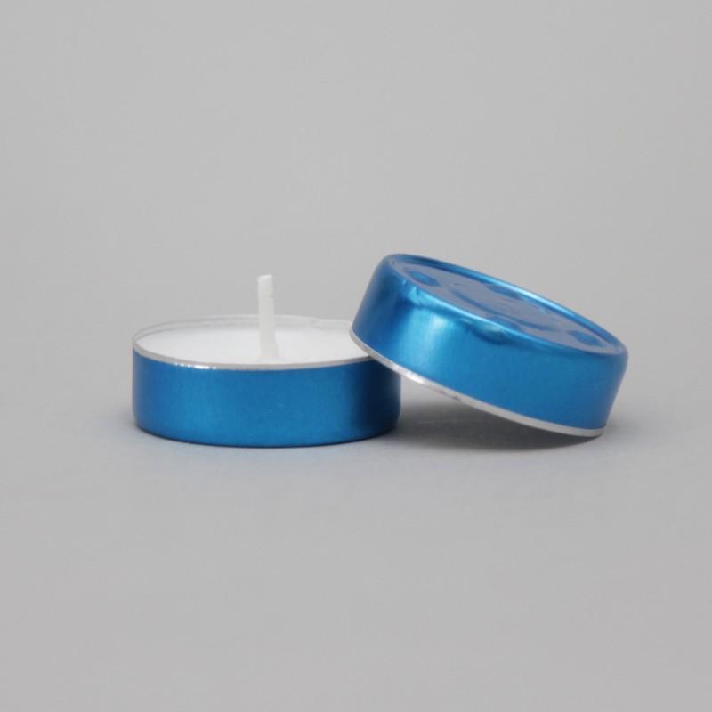 Box of 1000 Blue Votive Lights  - 1