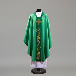 Gothic Chasuble 10405 - Green  - 2