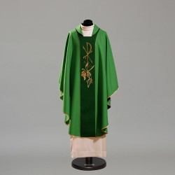 Gothic Chasuble 10406 - Green  - 1