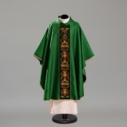 Gothic Chasuble 10410 - Green  - 2