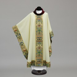 Gothic Chasuble 10414 - Cream