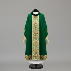 Gothic Chasuble 10415 - Green  - 3