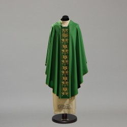 Gothic Chasuble 10416 - Green  - 1