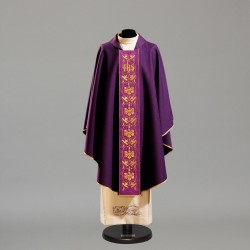 Gothic Chasuble 10417 - Purple