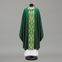 Gothic Chasuble 10421 - Green  - 1