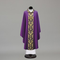 Gothic Chasuble 10422 - Purple