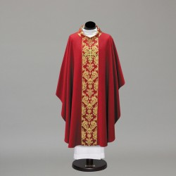 Gothic Chasuble 10424 - Red  - 4