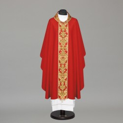 Gothic Chasuble 10426 - Red