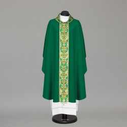Gothic Chasuble 10427 - Green  - 4