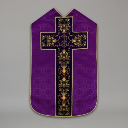 Roman Chasuble 10429 - Purple  - 7