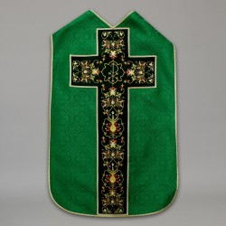 Roman Chasuble 10430 - Green  - 2