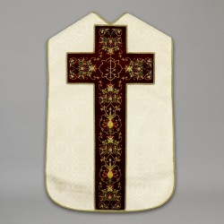 Roman Chasuble 10432 - Cream  - 6