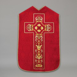 Roman Chasuble 10434 - Red  - 3
