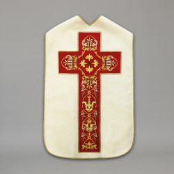 Roman Chasuble 10435 - Cream  - 5