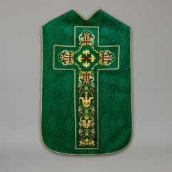 Roman Chasuble 10436 - Green  - 7