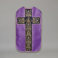 Roman Chasuble 10437 - Purple  - 1