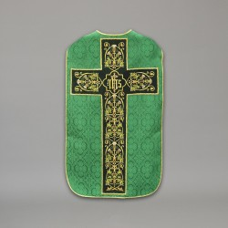 Roman Chasuble 10438 - Green  - 2