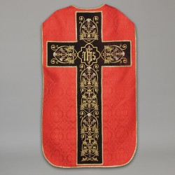 Roman Chasuble 10440 - Red  - 5