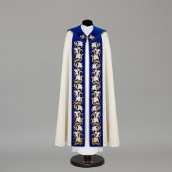 Marian Gothic Cope 10445 - Cream  - 1