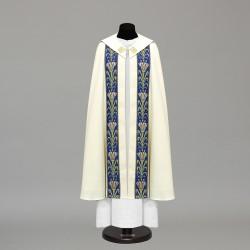 Marian Gothic Cope 10447 - Cream  - 1