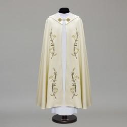 Marian Gothic Cope 10448 - Cream  - 1