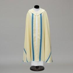 Marian Gothic Cope 10449 - Cream  - 1