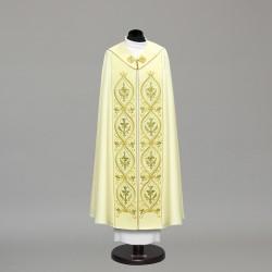 Marian Gothic Cope 10452 - Cream  - 2