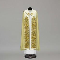 Marian Gothic Cope 10454 - Cream  - 1