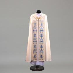Marian Gothic Cope 10455 - Cream  - 1