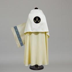 Marian Humeral Veil 10492 - Cream  - 1