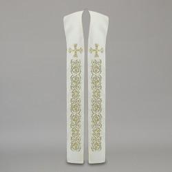 Gothic Stole 10560 - Cream