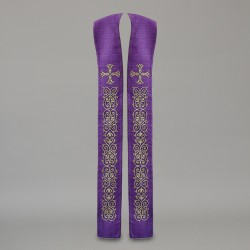 Gothic Stole 10562 - Purple  - 2