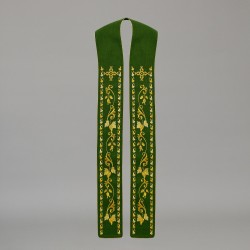 Gothic Stole 10574 - Green