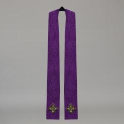 Gothic Stole 10579 - Purple