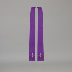 Gothic Stole 10586 - Purple  - 2