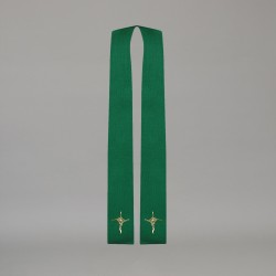 Gothic Stole 10587 - Green
