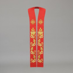 Gothic Stole 10589 - Red