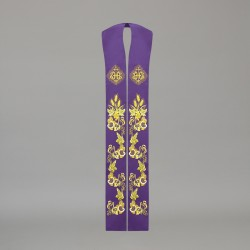 Gothic Stole 10590 - Purple  - 2