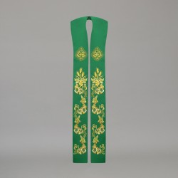 Gothic Stole 10592 - Green