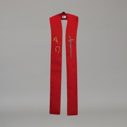 Gothic Stole 10599 - Red
