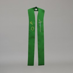 Gothic Stole 10600 - Green